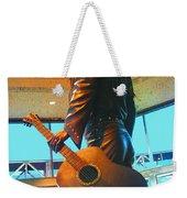 Elvis In Bronze At Memphis Weekender Tote Bag