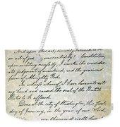 Emancipation Proc., P. 4 Weekender Tote Bag
