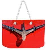 Emblem On Red 2 Weekender Tote Bag