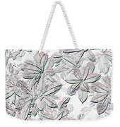 Embossed Crotons Weekender Tote Bag