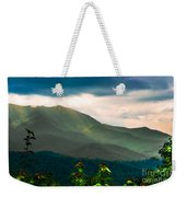 Emerald And Gold Weekender Tote Bag