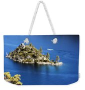 Emerald Bay Lake Tahoe Weekender Tote Bag