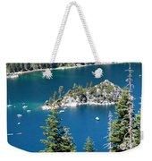 Emerald Bay Vertical Weekender Tote Bag