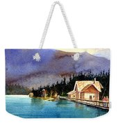 Emerald Lake Lodge B.c Weekender Tote Bag