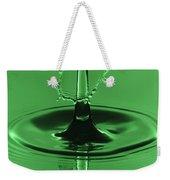 Emerald Umbrella Weekender Tote Bag