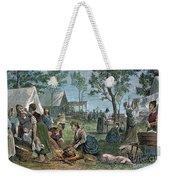 Emigrants: Arkansas, 1874 Weekender Tote Bag by Granger