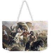 Emigrants To West, 1874 Weekender Tote Bag