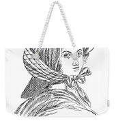 Emily Bront� (1818-1848) Weekender Tote Bag