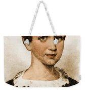 Emily Dickinson, American Poet Weekender Tote Bag by Photo Researchers