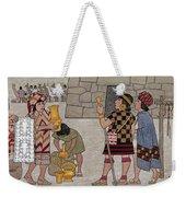 Emissaries Bring Tribute To Inca Weekender Tote Bag