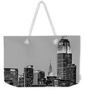 Empire State Bw Weekender Tote Bag