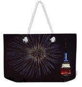 Empire State Fireworks Weekender Tote Bag