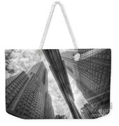 Empire State Reflection Weekender Tote Bag