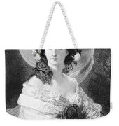 Empress Eugenie Of France Weekender Tote Bag