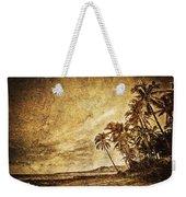 Empty Tropical Beach 3 Weekender Tote Bag
