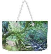 Enchanted Leprechaun Forest Weekender Tote Bag