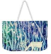 Enchanted Winter Forest Weekender Tote Bag