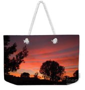 End Of A Perfect Day Weekender Tote Bag