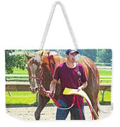 End Of The Race Weekender Tote Bag