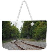 End Of The Rail Weekender Tote Bag