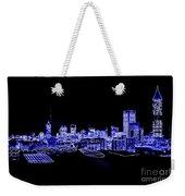 Energetic Atlanta Skyline - Digital Art Weekender Tote Bag