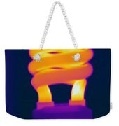 Energy Efficient Fluorescent Light Weekender Tote Bag