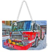 Engine 34 Readied Up Weekender Tote Bag