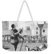 England: Beheading, 1554 Weekender Tote Bag by Granger