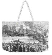 England: Boat Race, 1869 Weekender Tote Bag