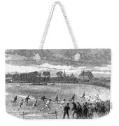 England: Foot Race, 1866 Weekender Tote Bag
