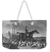 England: Fox Hunt, 1832 Weekender Tote Bag