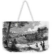 England: Manchester, 1842 Weekender Tote Bag