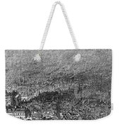 England: Manchester, 1876 Weekender Tote Bag