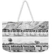 England: Railroad Travel Weekender Tote Bag
