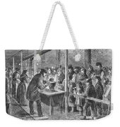 England: Soup Kitchen, 1862 Weekender Tote Bag