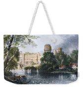 England: Warwick Castle Weekender Tote Bag