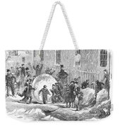 England: Winter, 1855 Weekender Tote Bag