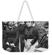 England: Women Strikers Weekender Tote Bag