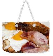 English Breakfast Weekender Tote Bag