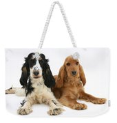 English Cocker Spaniels Weekender Tote Bag