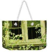 English Countryside Window Weekender Tote Bag