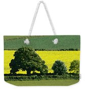 English Field Of Yellow 2 Weekender Tote Bag