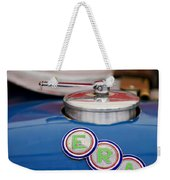 English Racing Automobile Hood Emblem Weekender Tote Bag