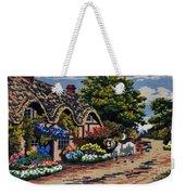 English Tapestry Weekender Tote Bag
