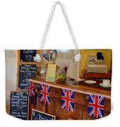 English Tearoom Weekender Tote Bag