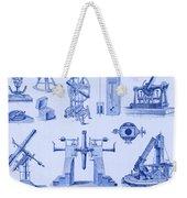 Engraving Of Historical Astronomy Weekender Tote Bag