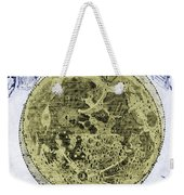 Engraving Of Moon, 1645 Weekender Tote Bag