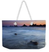 Engulfed By The Tides Weekender Tote Bag