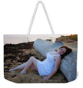 Enjoying The Sunrise Weekender Tote Bag