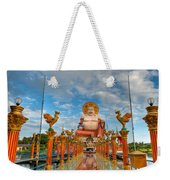 Entrance To Buddha Weekender Tote Bag by Adrian Evans